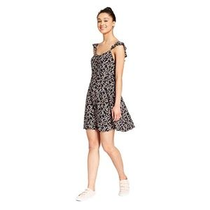 Mossimo Supply Co. Women's Floral Button Dress